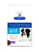 Afbeelding van 12 Kg Hills Prescription Diet Canine D/D Eend/Rijst ...