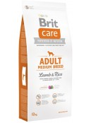 Afbeelding van Brit Care Adult Medium Breed Lamb Rice 12 kg...