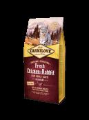 Afbeelding van Carnilove Cat Fresh Chicken & Rabbit 6kg...