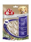 Afbeelding van 8in1 Delights Beef Twisted Sticks 35 st...
