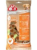 Afbeelding van 8in1 Minis chicken and carrot 100 gr ...