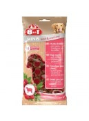 Afbeelding van 8in1 Minis lamb and cranberry 100 gr ...