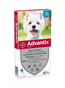 Afbeelding van Advantix 100 Spot On 6 Pipet 4 10 kg...