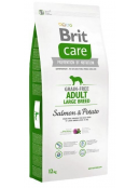 Afbeelding van Brit Care Adult Large Salmon Potato Grain Free 12 kg...