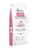 Afbeelding van Brit Care Puppy Salmon Potato Grain Free 12 kg...