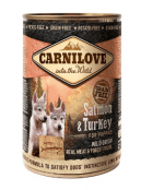 Afbeelding van Carnilove Blik Puppy Zalm/Kalkoen 400 gram...
