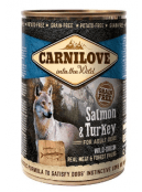 Afbeelding van Carnilove Blik Salmon/Turkey 400 gram...