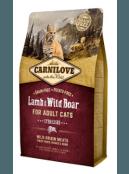 Afbeelding van Carnilove Cat Lamb/Wild boar Sterilised 2 kg...