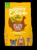 Afbeelding van 2,5 kg Edgard and Cooper Biokalkoen & Biokip Brok ...