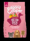 Afbeelding van 700 gram Edgard and Cooper Eend & Kip Brok Puppy ...