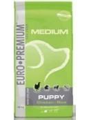 Afbeelding van 12 kg Euro Premium Medium Puppy Chicken/Rice...