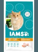 Afbeelding van 10 kg Iams Cat Adult Light/Sterilised Kip...