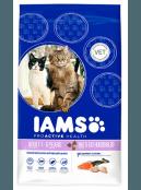Afbeelding van 15 kg Iams Cat Adult Multicat Kip/Zalm: Tijdelijke actie...