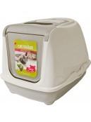 Afbeelding van Katten toilet Flipcat Jumbo lichtgrijs...